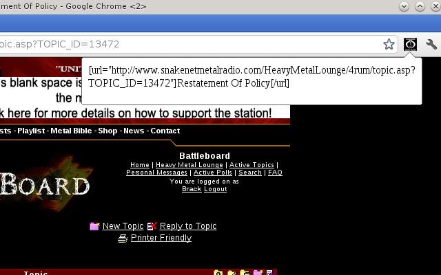 Snakenet URL Maker