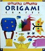 Photo: Super Nifty Origami Crafts Urton, Andrea, Olexiewicz, Charlene Lowell House 1997 Paperback 32 pp 11.25 x 8.5 ins ISBN 1565653963