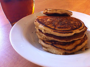 Photo: Daddy Made Clean Pancakes From Scratch!