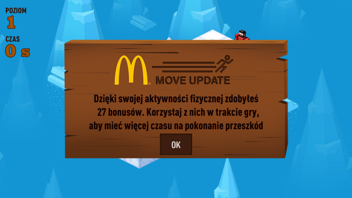 Drwal wraca do gry- screenshot