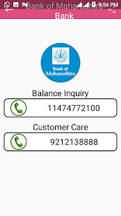 Bank Balance check - náhled
