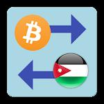 Bitcoin x Jordanian Dinar icon