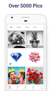 Pixel Art: Color by Number MOD APK (Premium Unlocked) for Android 2