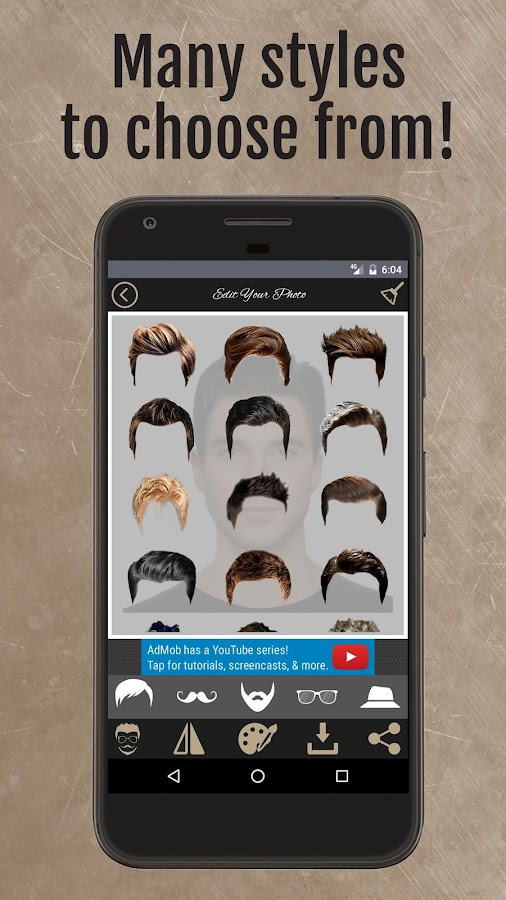 The Man Style – Add Beard/Hair- screenshot