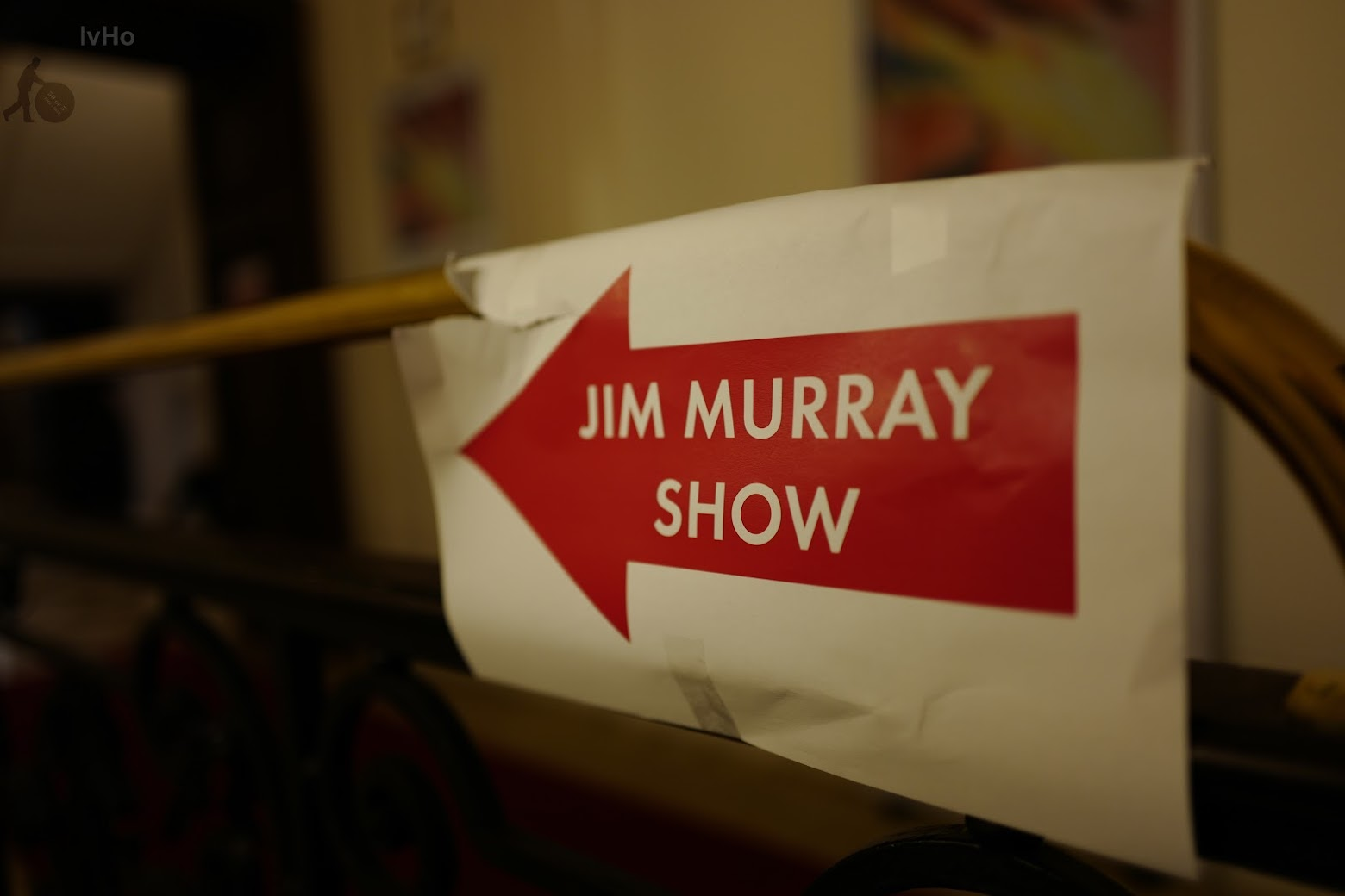 Jim Murray - direction sign