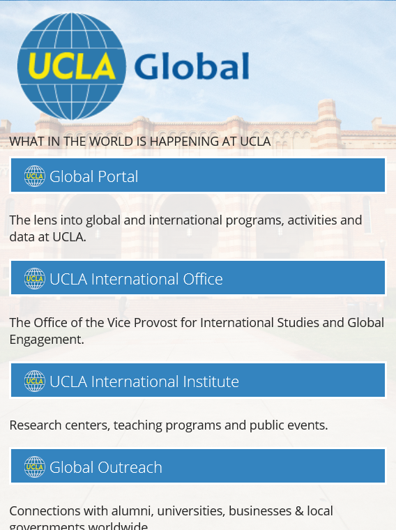UCLA Global- screenshot