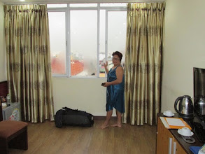 Photo: Hotel room in Hanoi - OK for $40 pn (good WiFi, bar fridge, aircon, English breakfast)