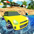 Boat Car : Beach Explorer and Water Car Racing 17 icon