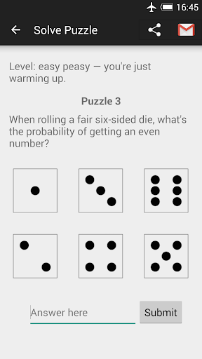 Probability Math Puzzles android2mod screenshots 3