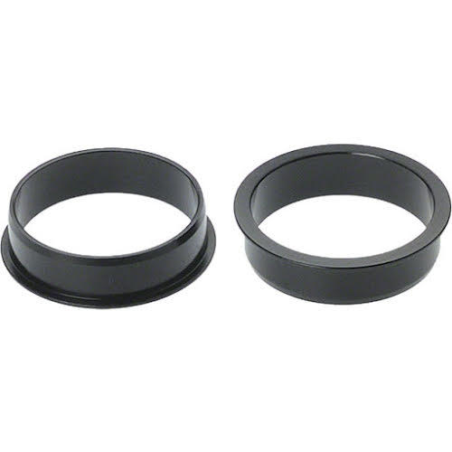 """Problem Solvers Reduces 34mm to 30.2mm (1-1/8"""" to 1"""" headset) Black"""
