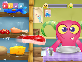 Monster Chef - cooking games for kids and toddlers