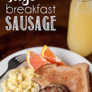Sage Breakfast Sausage.