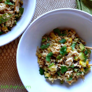 Quick and Healthy Crab Fried Rice.