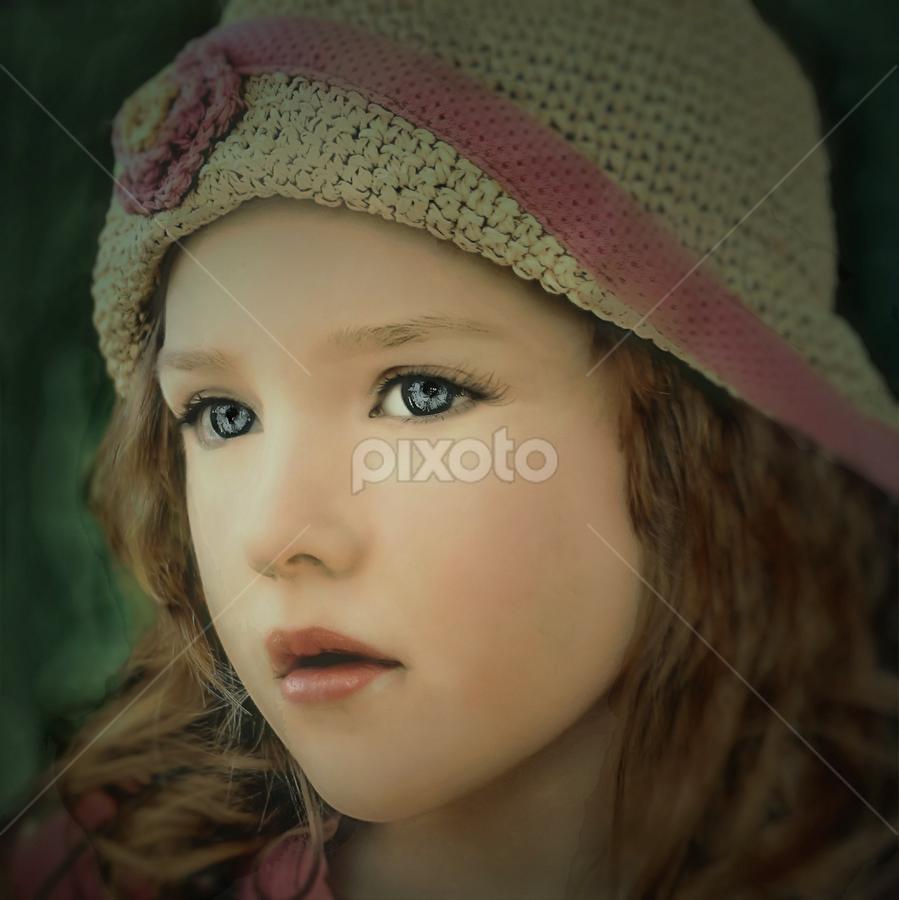 Watching the Weather by Cheryl Korotky - Babies & Children Child Portraits