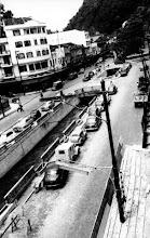 Photo: Rua do Imperador. Á esquerda, esquina da Rua General Osório. Foto da década de 50
