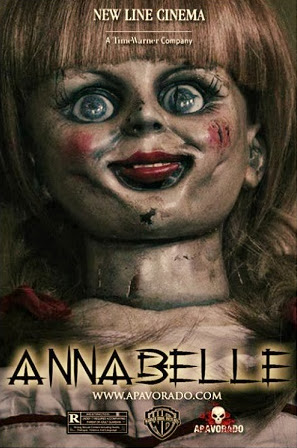 Filme Poster Annabelle WEBRip XviD Dual Audio & RMVB Dublado