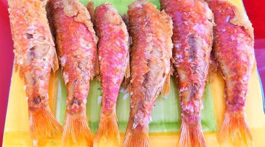 Los salmonetes, grandes protagonistas del menú de hoy.
