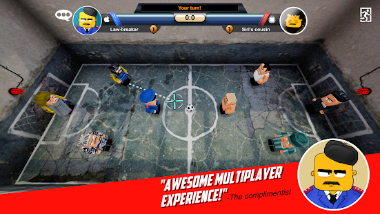 Jail football- screenshot thumbnail