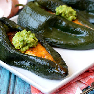 Breakfast Stuffed Poblano Peppers.
