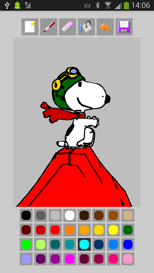 photo to coloring book screenshot - Pictures To Coloring Book