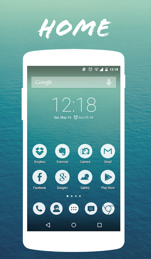 Water transparent - CM12/12.1 - screenshot