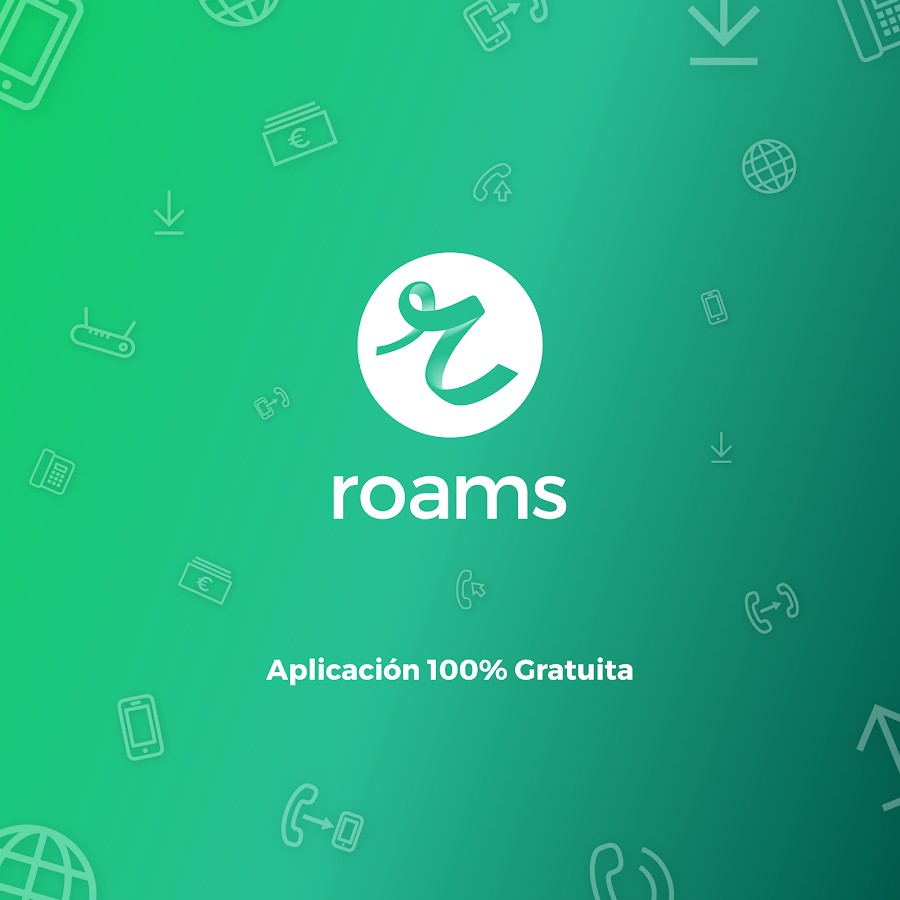 Roams - Consumo de datos- screenshot
