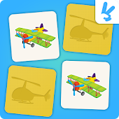 Memory game for kids : Planes