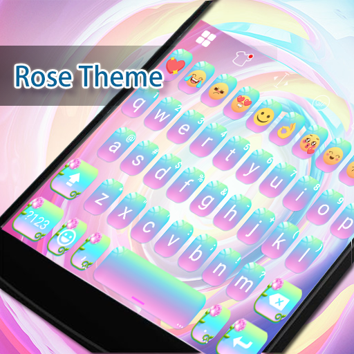 Rose Eva Keyboard -Smiley, Gif 遊戲 App LOGO-硬是要APP