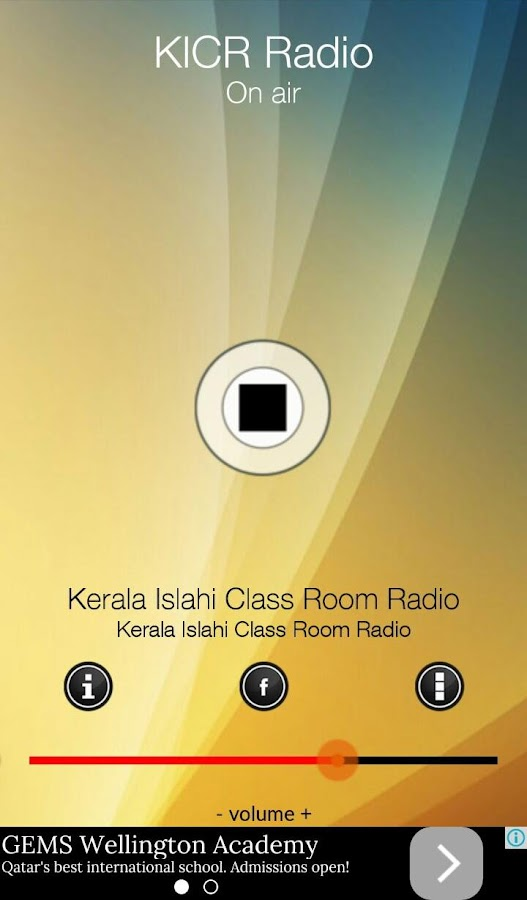 KICR Radio- screenshot