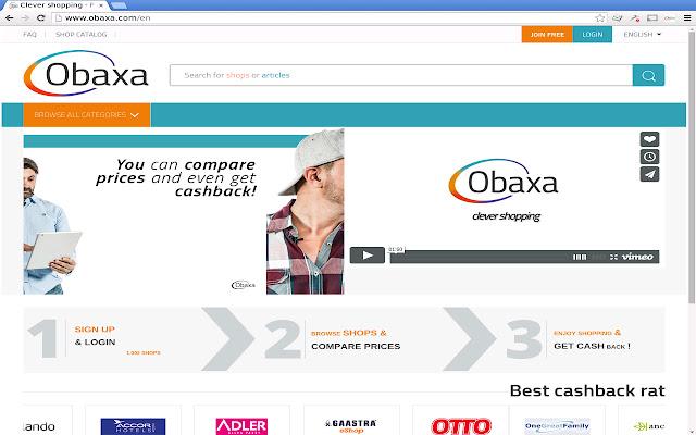 Obaxa Cashback