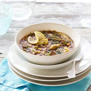 Slow-Cooker Lamb Stew with Artichokes & White Beans