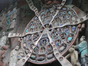 Photo: Buddhist Wheel of Life