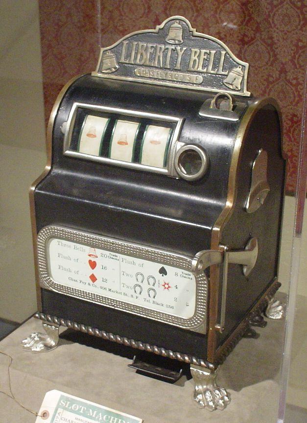 Slot Machine ต้นกำเนิดตู้สล็อต