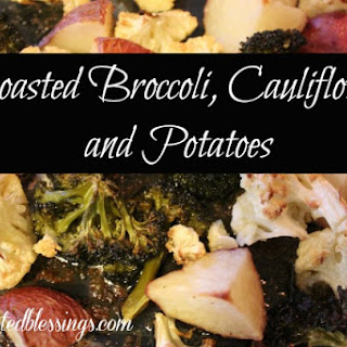 Roasted Broccoli Cauliflower Recipes