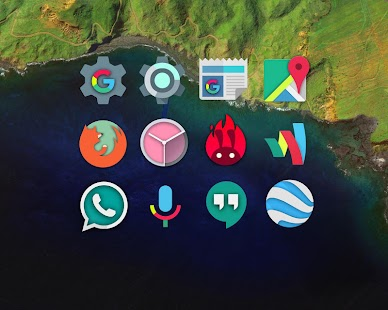 Nougat - Icon Pack Screenshot