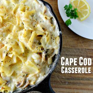 Cape Cod Seafood Casserole.