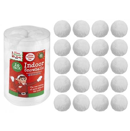 20-pack Snöbollar för inomhusbus