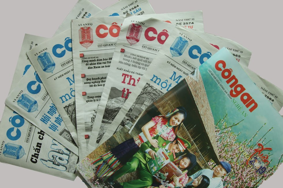 Trải qua 35 năm, Báo Công an Nghệ An đã thay đổi, nâng cao chất lượng nội dung và hình thức để đáp ứng nhu cầu của bạn đọc
