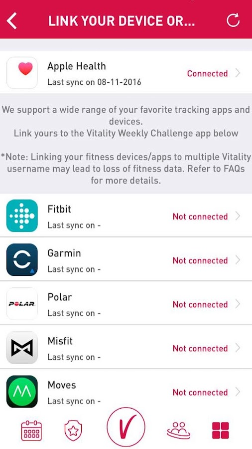 Philam Vitality Active- screenshot