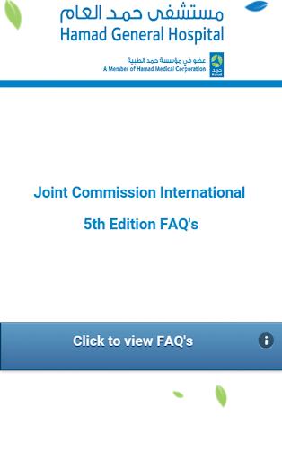 HGH JCI 5th Edition FAQs