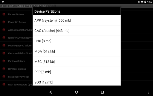 Root Toolkit for Android™ 5.0 screenshots 15