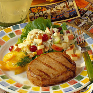 Garlic and Orange Marinated Grilled Pork Chops.