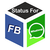Status For Fb and Whatsup