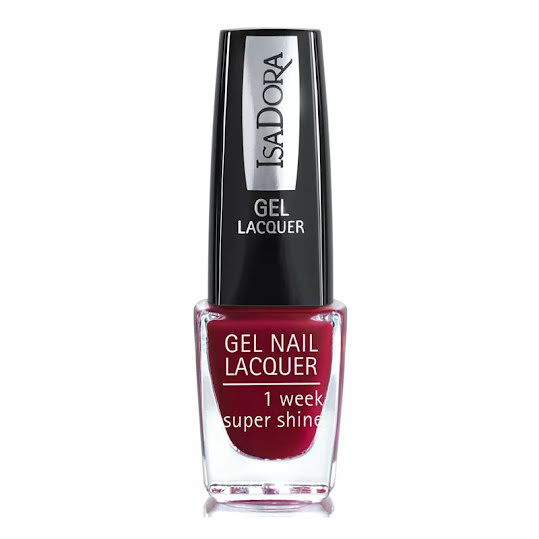 IsaDora Nail Lacquer, 263 Rhapsody Red 6ml