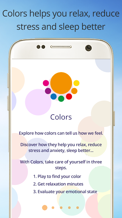 Colors-Relieve Stress and Relax with Light & Sound- screenshot