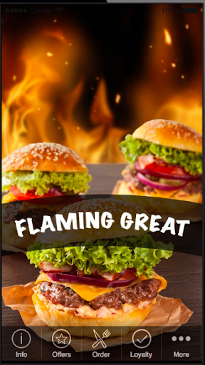 Flaming great