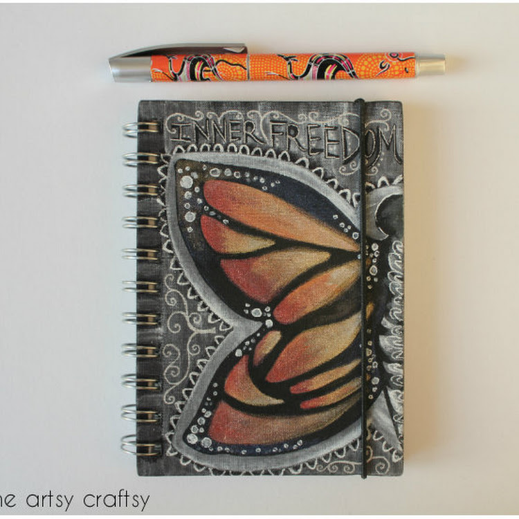 Inner Freedom - A5 notebook by The Artsy Craftsy