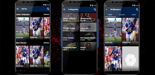 Wallpaper Sports Football American Theme التطبيقات على