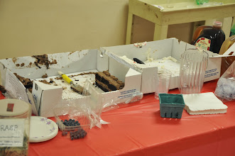 Photo: Not much left of our cakes.