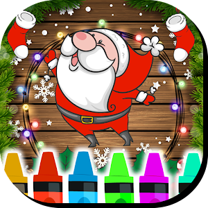Christmas Coloring Book Game